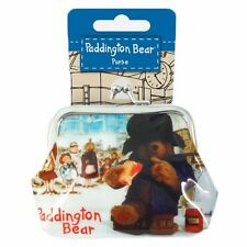 Official Cute Paddington Bear Photo Station PVC Coin Purse - Travel Kiss Lock