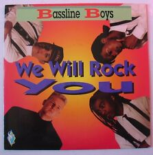 "BASSLINE BOYS (SP 45T 7"") WE WILL ROCK YOU (QUEEN COVER)  MINT"