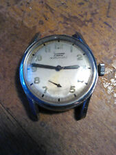 Tissot Ref. 6547/2 Automatic Stainless 17j Wristwatch Vintage