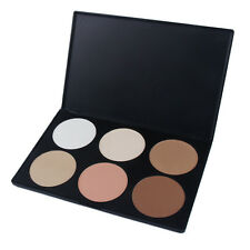 6 Color Neutral Warm Eyeshadow Palette Pro Makeup Cosmetics Party Eye Shadow Hot