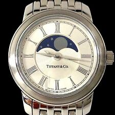 WATCH TIFFANY & CO STAINLESS LADIES MOON PHASE