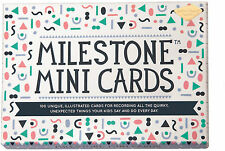 Milestone Cards MINI CARDS Baby/Toddler/Child Gift Baby Shower Present BN