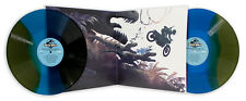 Jurassic world Mondo Movie Soundtrack Stan & Vince Art Vinyl LP green & blue edt
