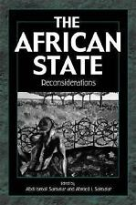 The African State by Abdi Ismail Samatar Paperback Book (English) 1999 LN