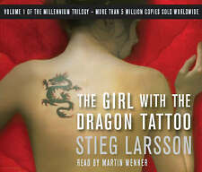 The Girl with the Dragon Tattoo by Stieg Larsson (CD-Audio, 2008)