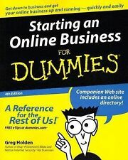 Starting an Online Business for Dummies by Greg Holden (2005, Paperback, Revised