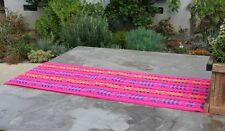 "Mexican Rebozo Serape Aztec Table Runner 80"" by 14"".  Choose from many colors"