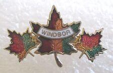 City of Windsor, Ontario, Canada Travel Souvenir Collector Pin