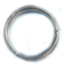 0.8mm Set of 3 Hard Stainless Steel Craft Wire Bracelet Loop Floristry UK Seller