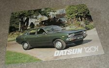 Datsun 120Y Range Brochure 1976 - Saloon - Coupe - Estate