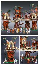 "Star Wars Ewok Villaggio - Village BUILDING SET ""Lego Compatibile"""