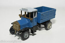 ZISS MAN ERSTER DIESEL LASTWAGEN 1923 24 TRUCK BLUE EXCELLENT CONDITION