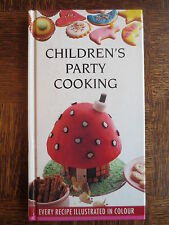 Cook Book CHILDREN'S PARTY COOKING Food Ideas Baking 1990s Carole Handslip