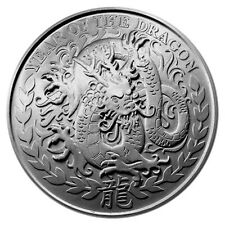 Somaliland 1,000 Shillings Lunar Series Dragon 2012 1 oz .999 Silver Coin