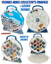 THOMAS Train MINIS COLLECTORS PLAYWHEEL Storage Carrying Case +GOLD ENGINE 1 Car