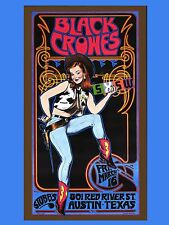 "The Black Crowes Austin 16"" x 12"" Photo Repro Concert Poster"