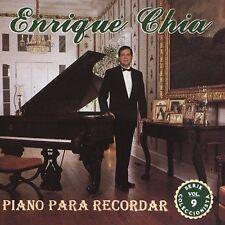 Chia, Enrique: Piano Recordar 9  Audio CD