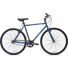 700c Men's Kent Blue Fixie Bike Steel Frame Single Speed Bicycle Cycling New