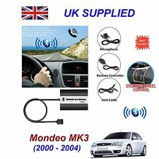 For Ford MONDEO Bluetooth Hands Free Phone AUX Input MP3 USB Charger Module 12P