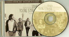 """Songs From Motion Picture  """"When You're Strange""""  The Doors  USA CD"""