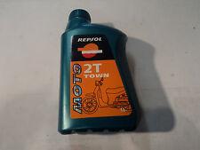 1 Litro REPSOL 2T Ciudad aceite de 2 tiempos Aceite de Motor Mineral 1 a Calidad