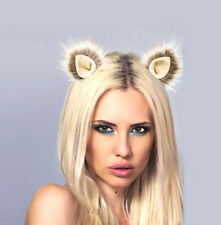 Kritter Klips Handcrafted Realistic Clip-On Animal Ears-Blonde Magic Ears