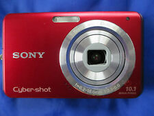 Sony Cyber-shot DSC-W180 10.1 MP Digital Camera - Red