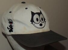 Felix The Cat Vintage 90s American Needle Blockhead Snapback Hat Cap