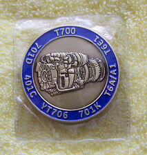 NEW: General Electric GE - Gas Turbine Engine T700  - Challenge Coin