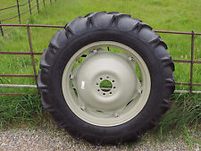 RIGHT HAND REAR WHEEL & TYRE ASSEMBLY 11x28 FITS FORD MASSEY FERGUSON IH