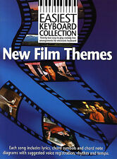 Easiest Keyboard Collection New Film Themes Learn to Play Piano Music Book