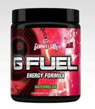 GAMMA LABS G FUEL WATERMELON 40 SERVINGS NATURAL ENERGY DRINK GFUEL PRE-WORKOUT
