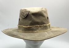 Real Deal Men's Hat Brazil Canvas Tarp Recycled Zombie Small