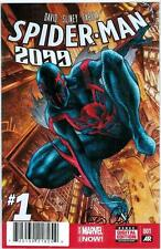 SPIDER-MAN 2099 #1 FIRST PRINT DF DYNAMIC FORCES SIGNED PETER DAVID COA MARVEL