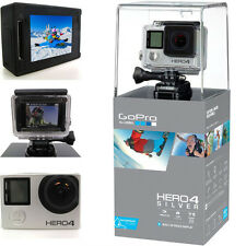 GoPro HERO4 Digital Video Recorder 1080P Camera 12MP Wide View Silver Edition