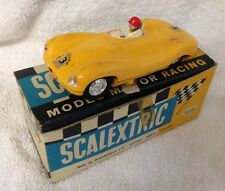 Vintage 1960's Triang Scalextric MM/C60 Jaguar B Type Boxed