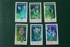DDR Geschützte Pflanzen 1563-1568; postfrisch