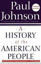 A History of the American People by Paul Johnson (1999, Paperback)