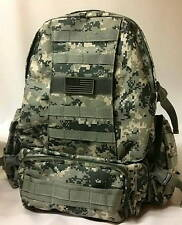 Military Molle Assault Tactical Backpack ACU Digital Large Rucksack Backpack Big