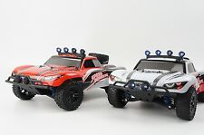 High Speed 1:18 4WD 2.4G 40KM/H Radio Control RC Electric Off Road Car Truck Led