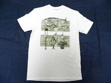 O'Neill Jack O'neill Collection Sterling White SS T-Shirt Tee Sz Medium