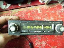Ancien Autoradio PHILIPS pour voiture ancienne peugeot renault citroen