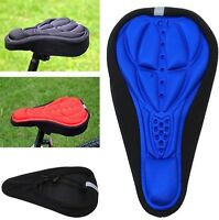 New 3D Cycling Bicycle Pad Seat Saddle Cover Soft Bike Cushion Pad 4 Colors -  N