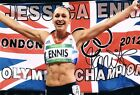 Signed Jessica Ennis-Hill London 2012 Olympics Athletics Photo