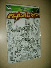FLASHPOINT #2 NM ANDY KUBERT SKETCH VARIANT Batman Flash Geoff Johns