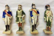 Antique French General Porcelain Figurines by Scheibe-Alsbach