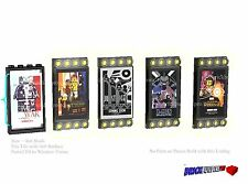 Stickers Lego Custom, Movie Posters, city town Marvel 3068 for Cinema Star Wars