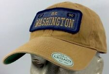 Washington DC 1790 Baseball Trucker Sport Cap Yellow Legacy 100% Cotton One Size