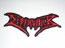 DISMEMBER DEATH METAL IRON ON EMBROIDERED PATCH