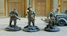 TQD GS34 20mm Diecast WWII German Waffen SS Partisan Hunters   3 Figures